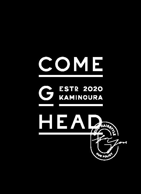ロゴ:COMEGHEAD KAMINOURA